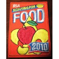Uniform Patch Boy Scout Bsa Scouting For Food Drive 2010 Bsa