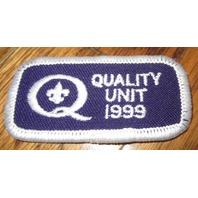 Boy Scouts Merit Patch Badge Quality Unit 1999