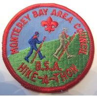 Monteray Bay Area Council Bsa Hike A Thon Hikeathon Boy Scout Uniform Patch
