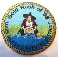 Gold Rush Of 1998 Louis Agassiz Fuertes District Boy Scout Uniform Patch