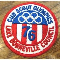 Vintage Boy Scouts Patch Bsa Cub Scout Olympics Lake Bonneville Council