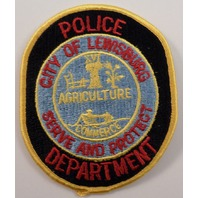 City Of Lewisburg Agriculture Commerce Department Police Uniform Patch #Pd-Yl