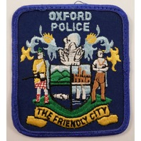 Osford Department The Friendly City Police Uniform Patch #Pd-Bl