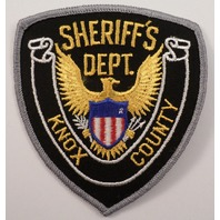 Sheriff'S Dept Knox County  Police Uniform Patch #Pd-Gy
