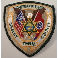 Sheriff'S Dept Shelby County Tenn  Police Uniform Patch #Pd-Gr