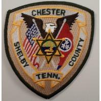 Chester Shelby  County Tenn  Police Uniform Patch #Pd-Gr