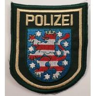 Polizei Striped Lion Police Uniform Patch #Pd-Gr