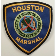 Houston Marshal Space City Police Uniform Patch #Pd-Bk