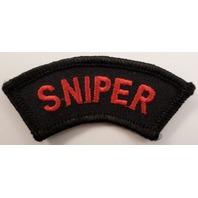Sniper Rocker Bar Uniform Patch #Pd-Bk