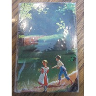 Plastic Coated Playing Cards New Sealed Girl And Boy At The Lake Card Deck