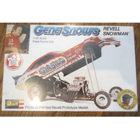 1975 Issue Revell Gene Snows 1/25 Vega Snowman Funny Car Kit Mint In Box Sealed
