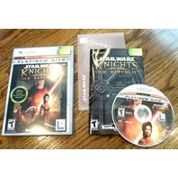 Xbox Star Wars Knights Of The Old Republic Complete