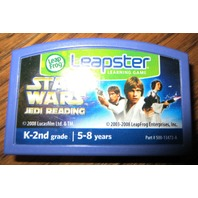Leapster Leapfrog Star Wars Jedi Learning & Reading Cartridge Game Ages 5-8