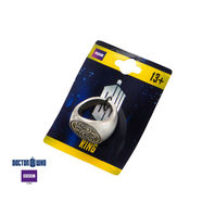 Inox Mens Zinc Alloy Dr Who Seal Of Rassilon Ring Size 12