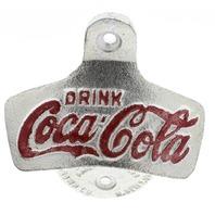 Drink Coca Cola Coke Starr X Metal Bottle Opener Wall Mount