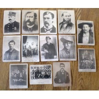 Lot Of 13 Old West Western America Usa Us Marshal Ranger Photos Cody Earp & More