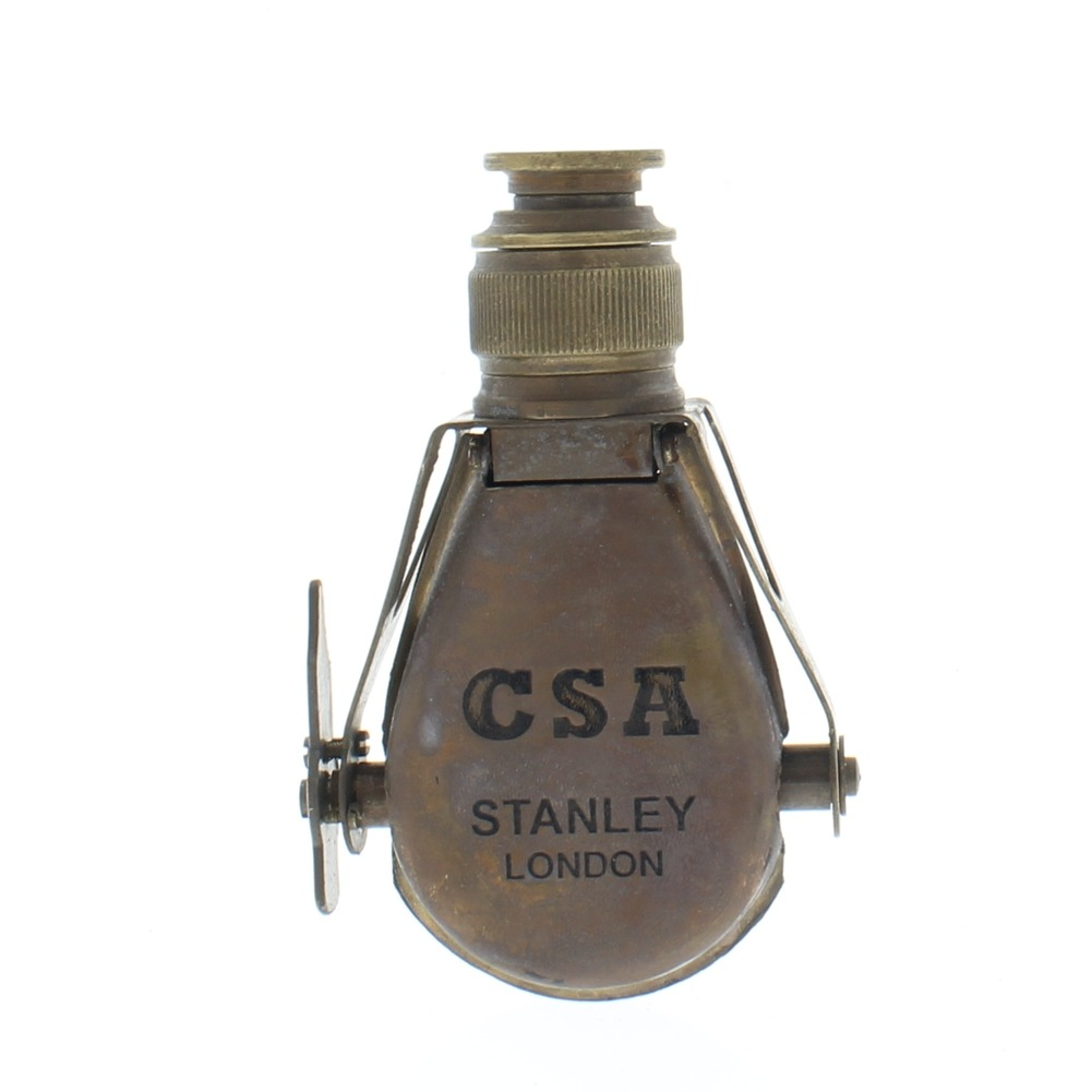 CSA Stanley London Telescope Small Mechanical Solid Brass