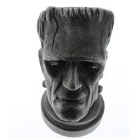Metal Bottle Opener Heavy Aluminum Antique Finish Frankenstein Bust