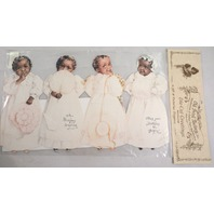 Victorian Turn Of The Century Happy Birthday Black Girls Greeting Card #Grc059