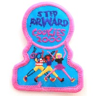Girl Scout Gs Uniform Patch Step Forward Cookies 2000 #Gsbpk