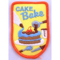 Girl Scout Gs Uniform Patch Cake Bake #Gsor