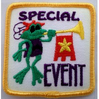 Girl Scout Gs Uniform Patch Special Event Frog Prince #Gsyl