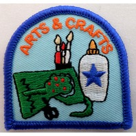 Girl Scout Patch Arts And Crafts Supplies Uniform Patch #Gsbl