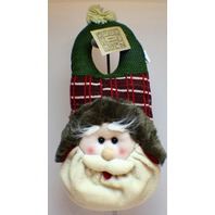 Door Knob Plush Hanger Santa Claus Greeter Hanna's Handiworks Winter Decor