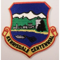Kerrisdale Centennial Shield Shape Uniform Military Patch  #Mtrd12