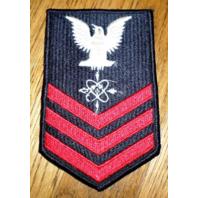 Us Navy Data Systems Technicin Petty Officer First Class Uniform Patch
