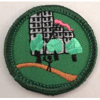 Girl Scout Gs Uniform Patch Junior Outdoors In The City #Gsgr