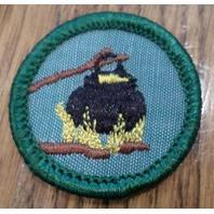 Jr. Girl Scout Green Junior Merit Badge Outdoor Cook