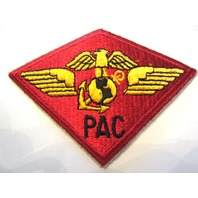 Marine Corp Military Uniform Patch Pac Eagle Wings Anchor