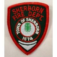 Sheborn Fire Department Dept 1674 Uniform Patch #Fd-Rd