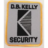 D.B. Kelly Security  Uniform Patch #Msyl