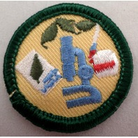 Girl Scout Gs Uniform Patch Science In Everyday Life Microscope #Gsgr