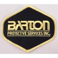 Barton Protective Services Inc.  Uniform Patch #Msyl