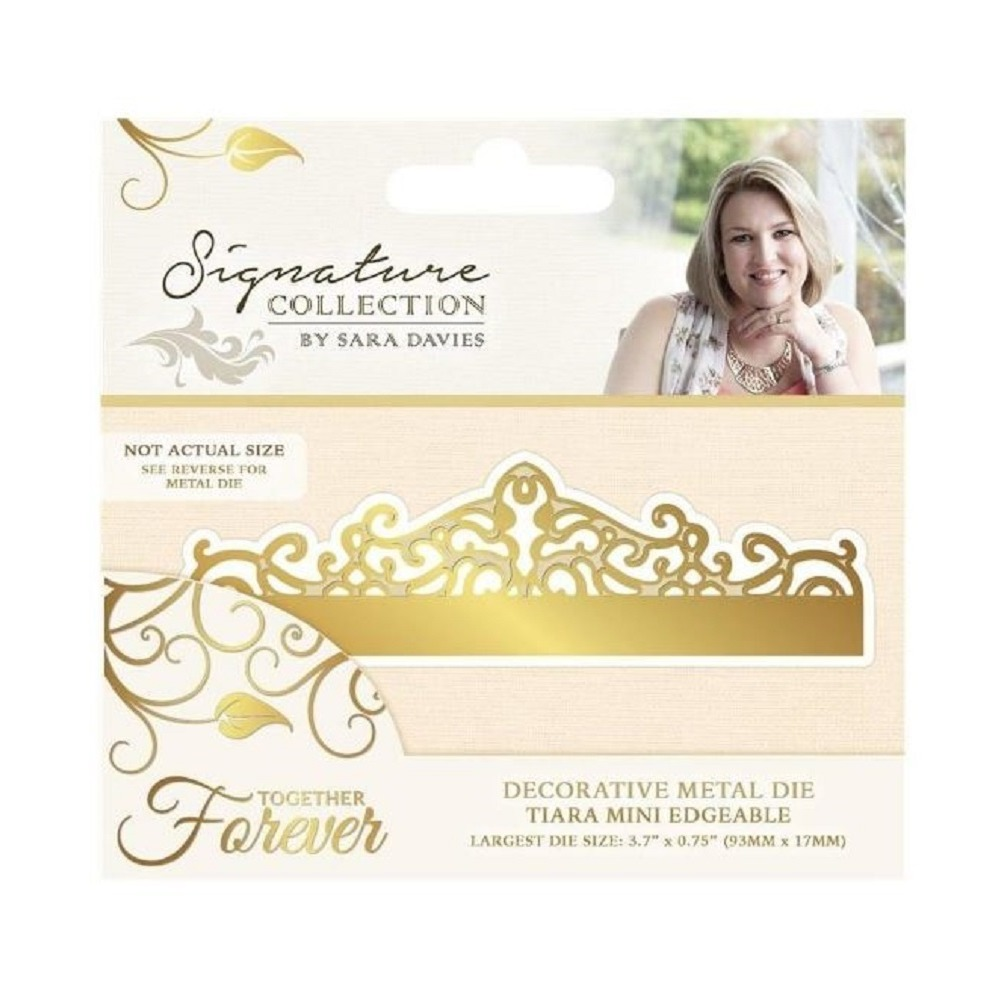 Crafter's Companion Tiara Border Metal Die Cut Together Forever