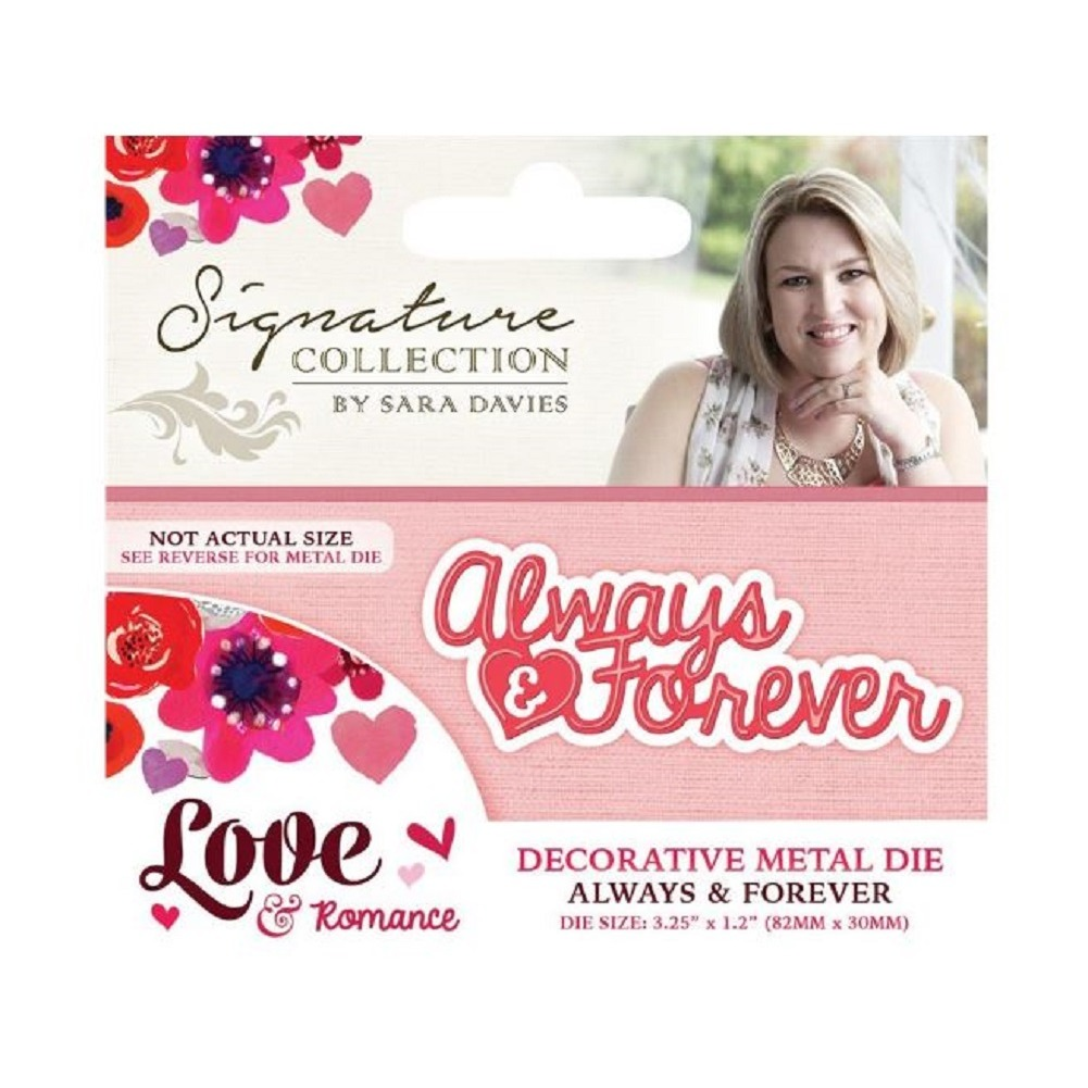 Crafter's Companion Always and Forever Metal Die Cut Love and Romance