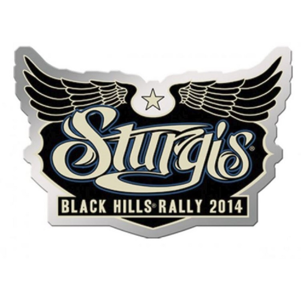 Sturgis Event Hat Lapel Vest Pin 2014 Sturgis Black Hills Week