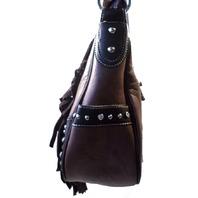 Montana West Saddlebag Western Inspired Bling Purse Handbag Trinity Ranch New