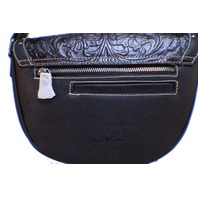 Trinity Ranch Western Inspired Montana West Purse Genuine Tooled Leather