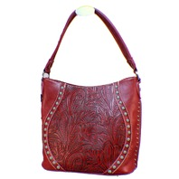 Montana West Trinity Ranch Montana West Leather Purse Conceiled Handgun Handbag