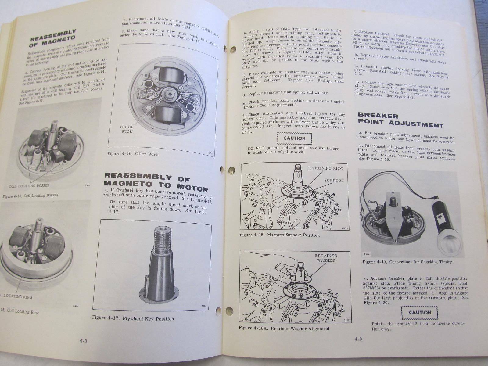 ... 1970 Evinrude Outboard Service Manual 33 HP Ski-Twin / Ski-Twin Electric