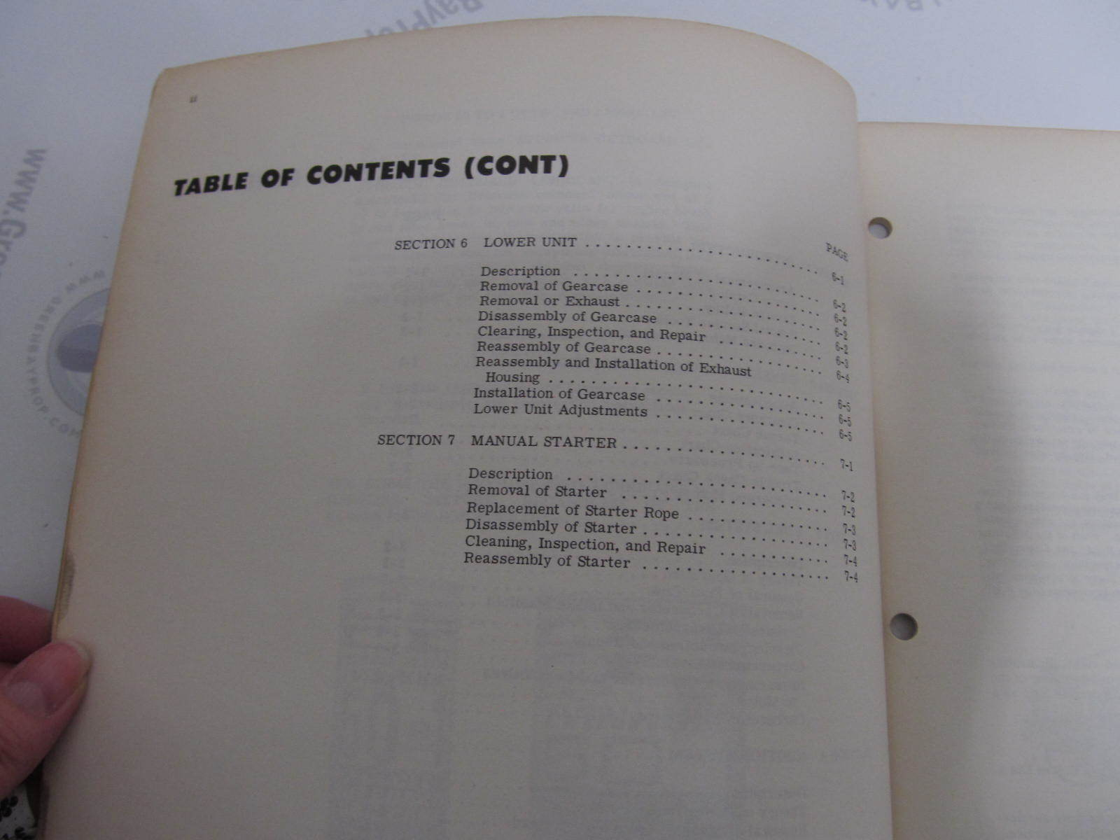 1971 Evinrude Outboard Service Manual 2 HP Mate 2102