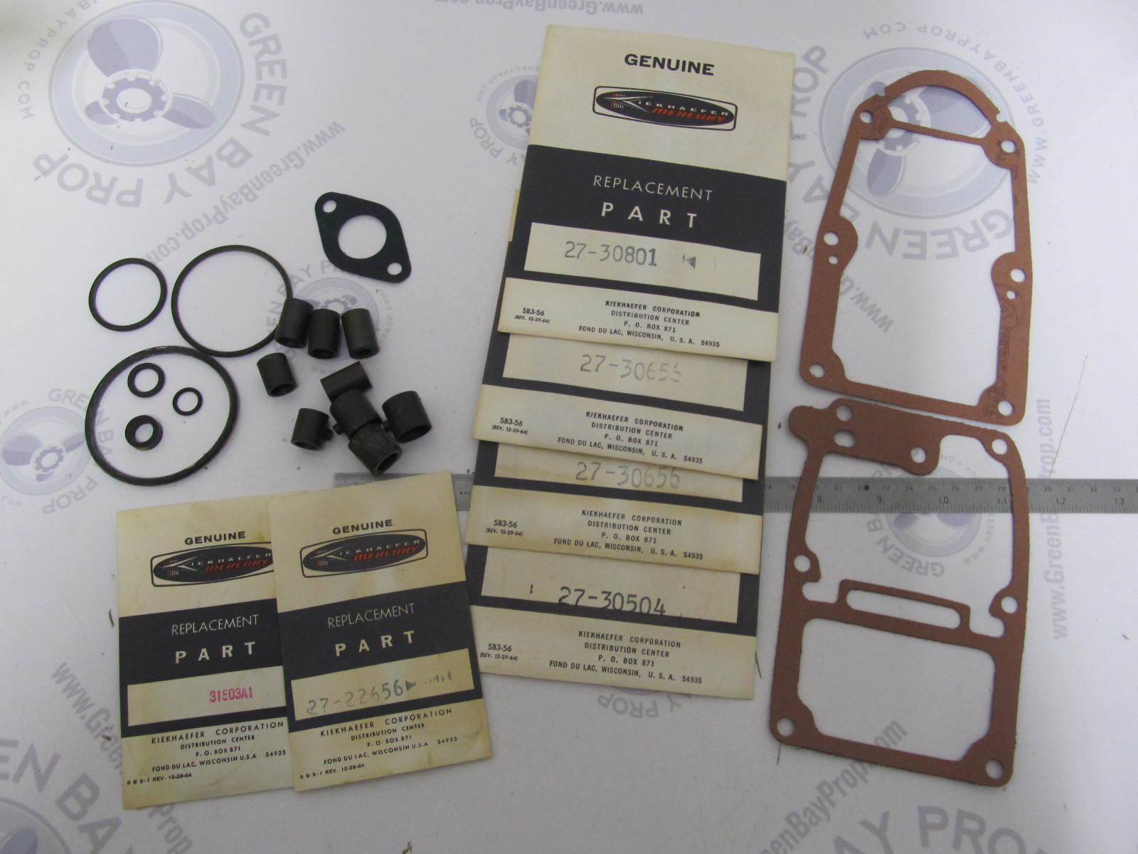 27-32215A1 Mercury 60 Outboard Motor Overhaul Gasket Set NLA