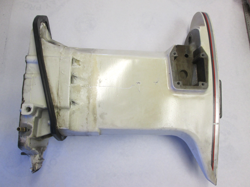 0435310 0435433 Evinrude Johnson White Midsection Exhaust Housing 120-250 Hp