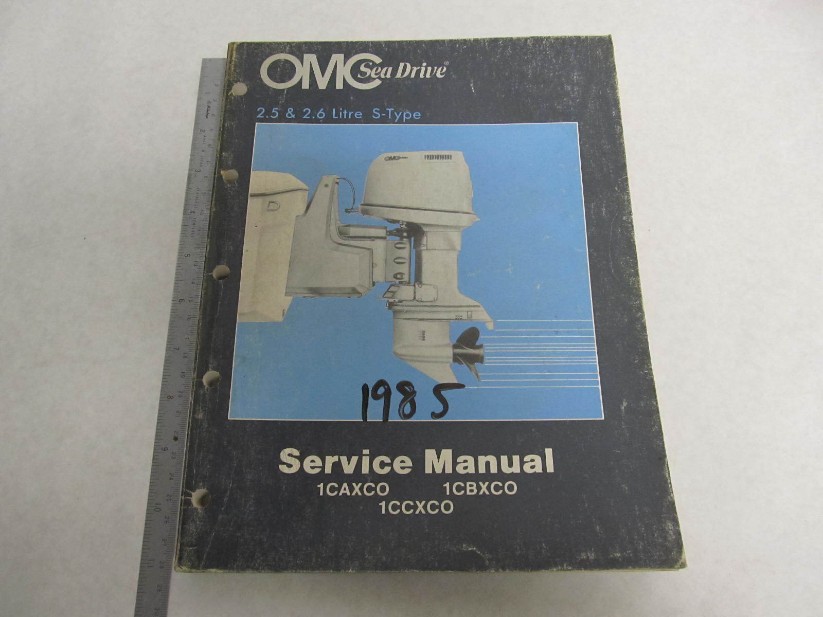 507513 1985 OMC Sea Drive Outboard Service Manual 2.5L & 2.6L ...
