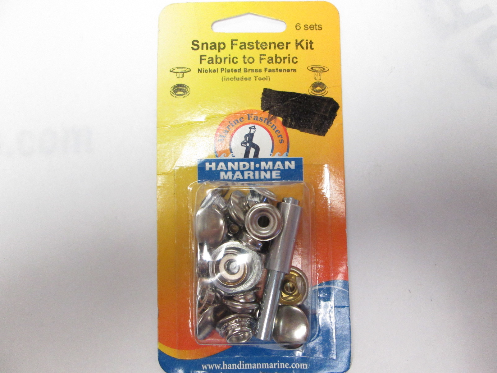 561012 Handi-Man Marine Boat Cover Snap Fastener Kit for Fabric to Fabric