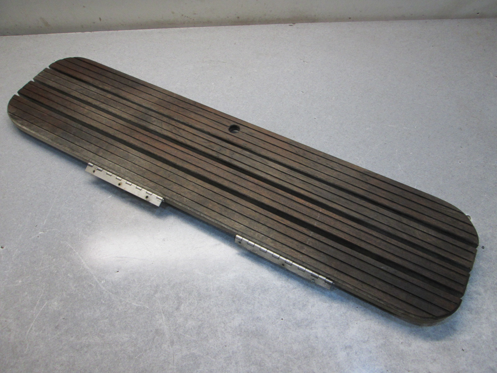 Teak Wood Boat Floor Deck Hatch Cover 41 3/4\